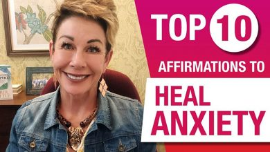 10 Anxiety Healing Affirmations