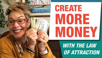 Learn how to use the law of attraction to create more money